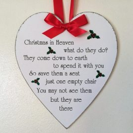 Christmas-Plaque-9-Christmas-In-Heaven-What-Do-They-Do-Holly-Image