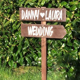 Floor-Standing-Directional-Sign-7-Wedding-Personalised-Names