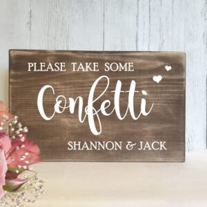 rustic-wedding-sign-confetti-www.vintagesignboutique.com