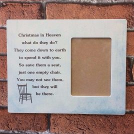 Photo Frame Christmas In Heaven What Do They Do?