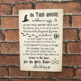 Harry Potter Sign