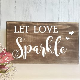 wedding sparklers send off sign
