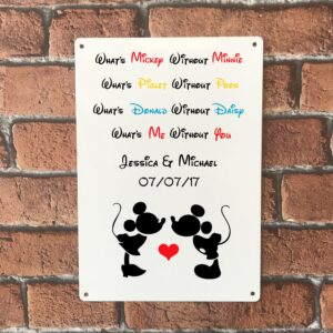 disney sign personalised gift