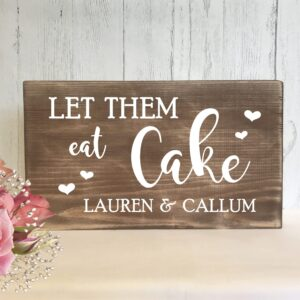 wedding-cake-rustic-sign-personalised-www.vintagesignboutique.com